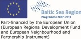 Baltic Sea Programme has via BalticCOMPASS co-financed the establishing of this web site